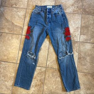 PAC Sun Embroidered Jeans